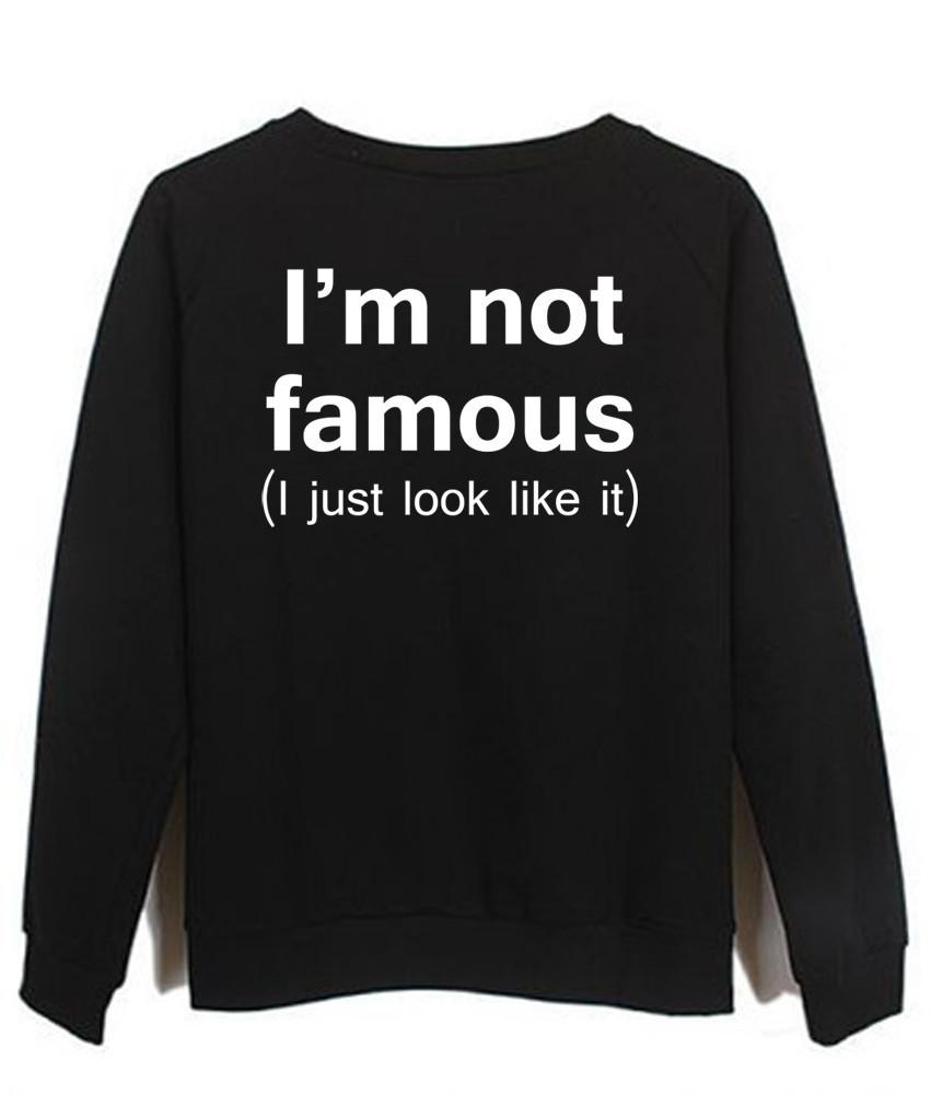 i'm not just famous i just look like