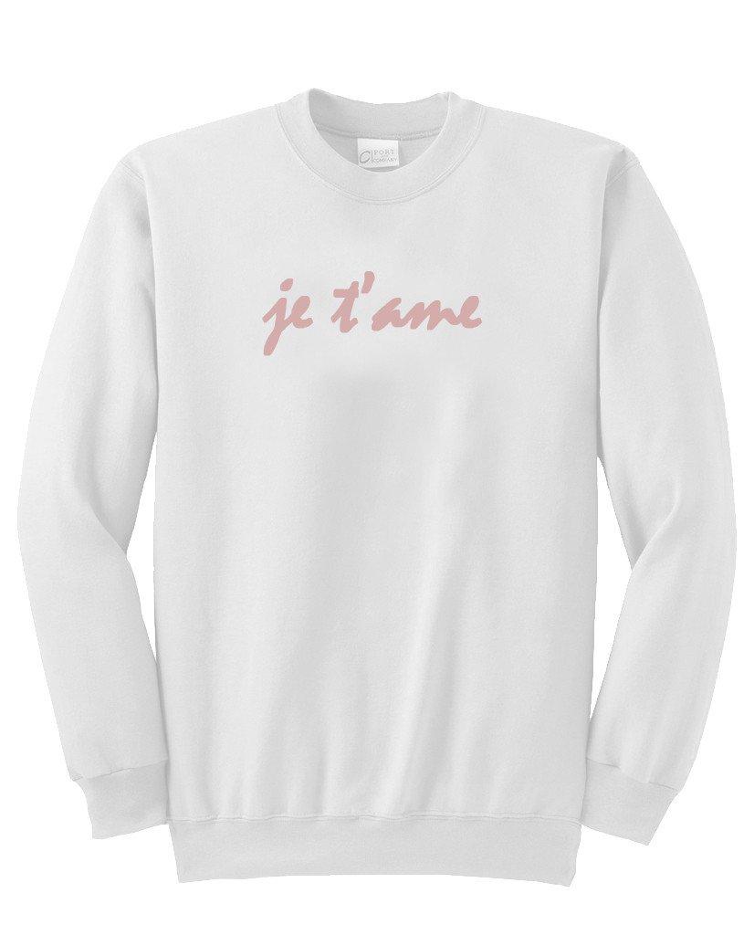 je t'ame sweatshirt