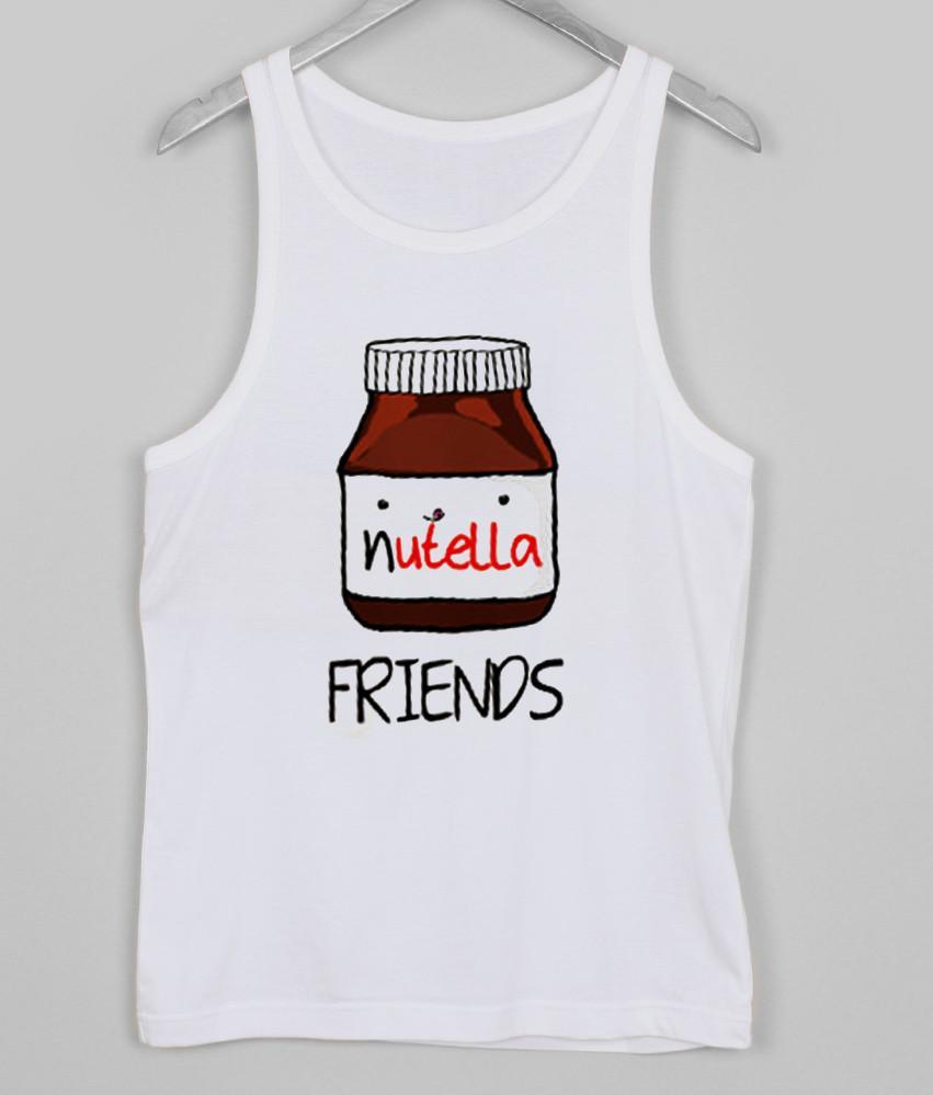 nutella friends Tank top