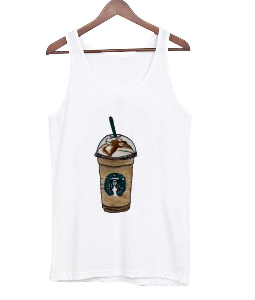 starbucks cappuccino tank top