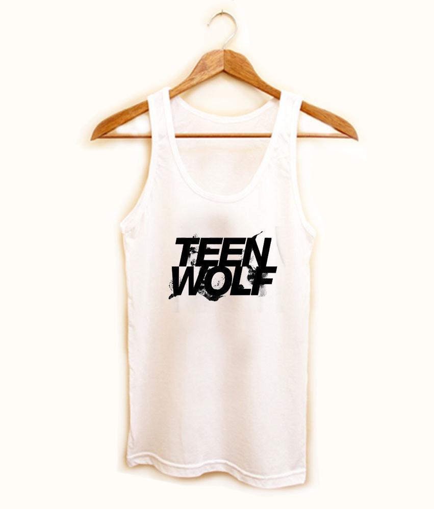 teen wolf tank top