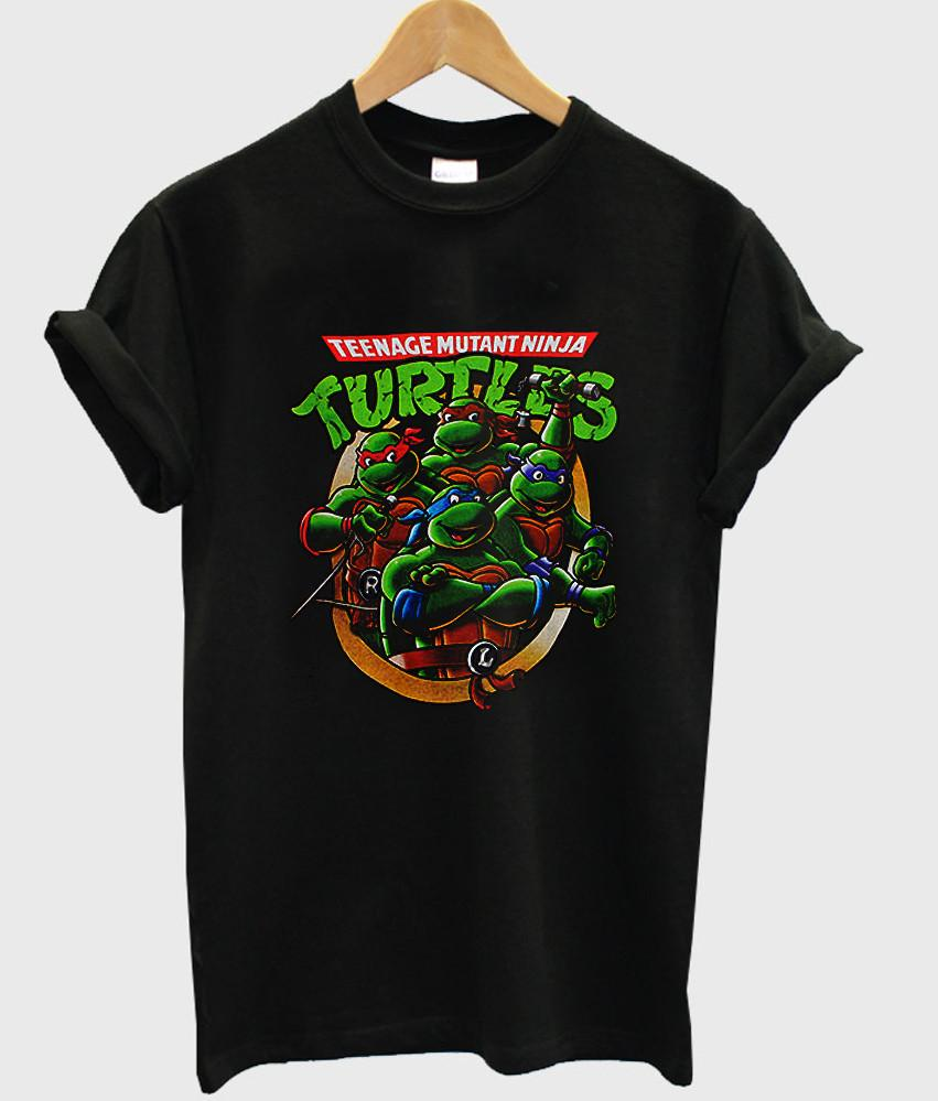 teenage mutant ninja turtles tshirt