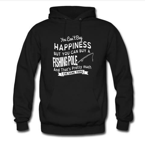 you can't buy happiness hoodie