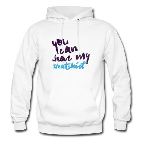 you can wear hoodie