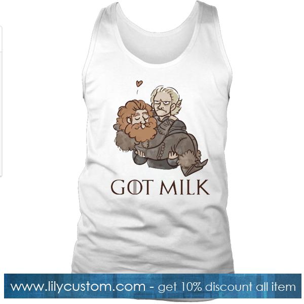 Brienne And Tormund Got Milk Tank Top SF