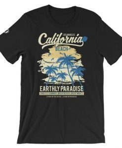 California Beachin Short-Sleeve Unisex T-Shirt