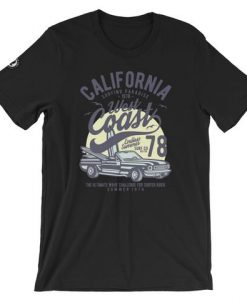 California West Coast Short-Sleeve Unisex T-Shirt