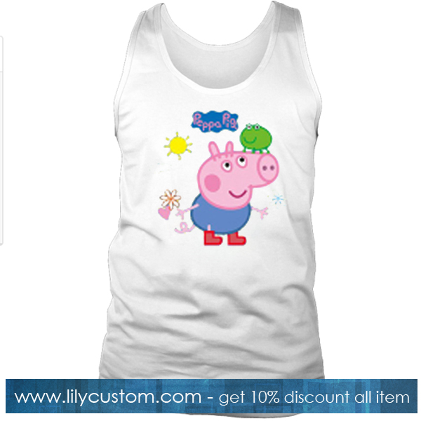 Yang Mi Peppa Pig Tank Top SF