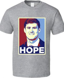 Daniel Jones Hope New York Football Draft Pick 2019 Fan T Shirt