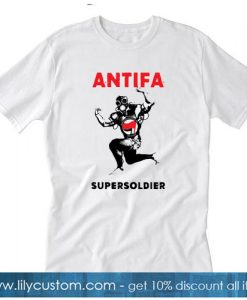 Antifa Supersoldier T-Shirt SR