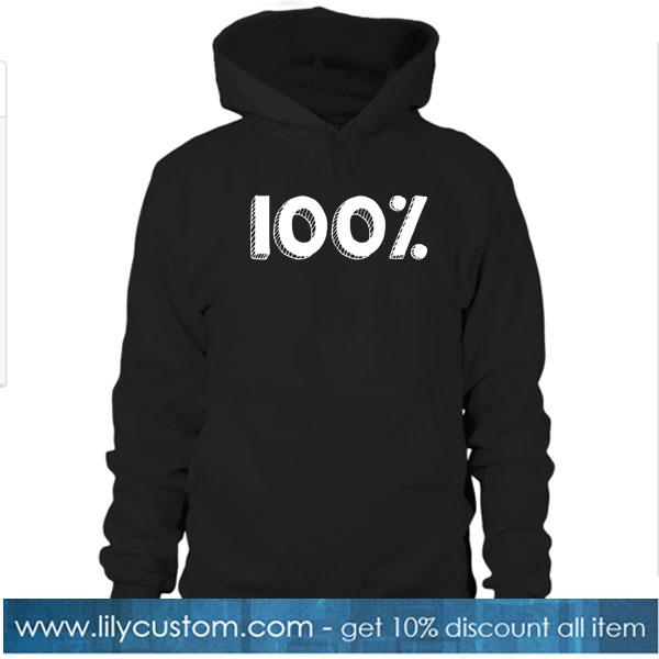 100% HOODIE SR