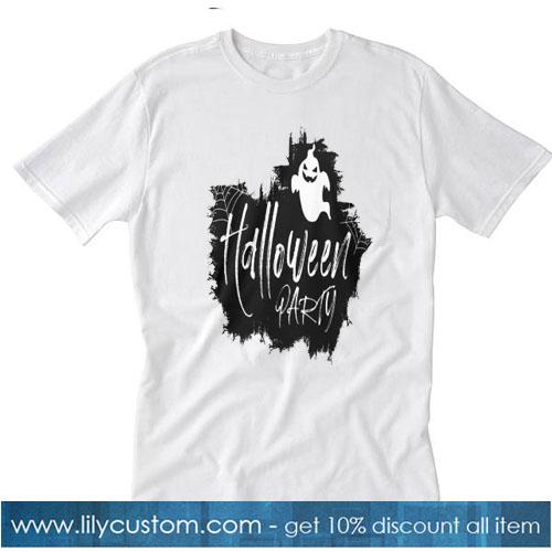 Halloween Ghost T-Shirt SR