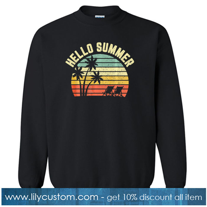 Hello Summer SWEATSHIRT SR