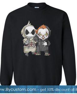 ACK SKELLINGTON AND PENNYWISE sweatshirt SN