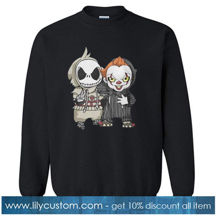 ACK SKELLINGTON AND PENNYWISE sweatshirt SN