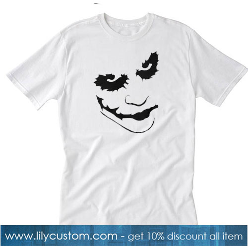 Joker white T-SHIRT SR