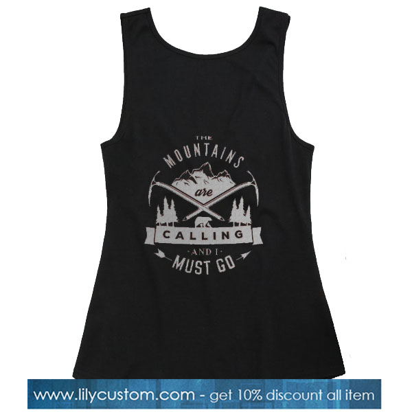 Mountains are calling TANK TOP SN