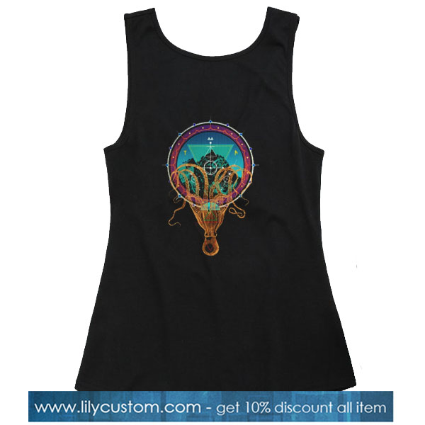 Octopus Holding Mountain Mandala TANK TOP SN
