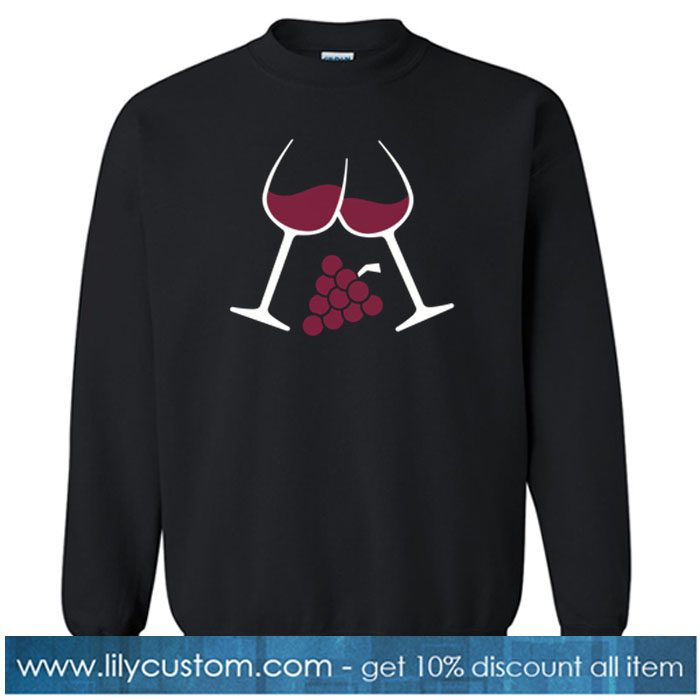 Wine SWEATSHIRT SR