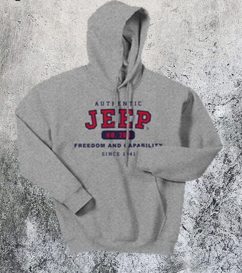 Authentic Jeep Hoodie SN