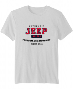 Authentic Jeep T-Shirt SN