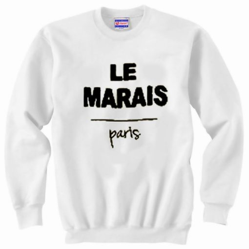 Le Marais Paris Sweatshirt SN