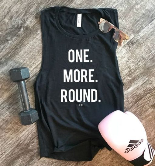 One More Round Tank Top SN