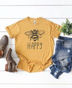 Women's Bee Happy Tee T-Shirt SN