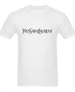 Yves Saint Laurent White T Shirt SN