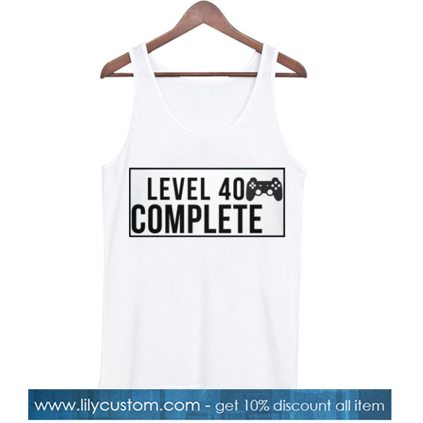 level 40 complete TANK TOP SN