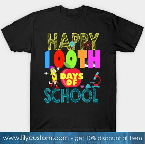 100 days of school T-Shirt-SL
