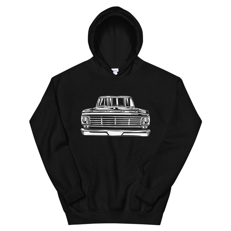 67 Ford f100 classic pickup Hoodie-SL Truck Hoodie-SL