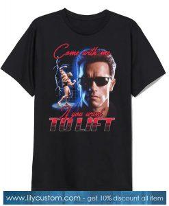 Arnold Schwarzenegger's TShirt SN