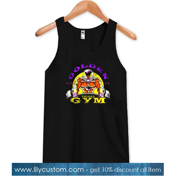 Golden Frieza Gym Tank Top SN