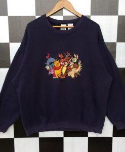 Vintage Winnie The Pooh Sweatshirt SN