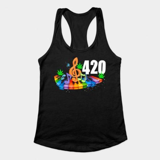 420 weed tank top