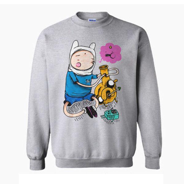 Adventure Time Bongs Sweatshirt