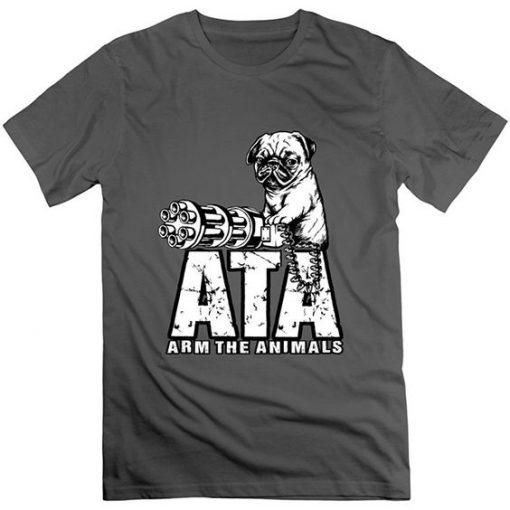 Ata Pug Cotton Tshirt
