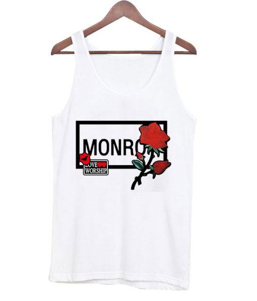 Monroe & Red Rose Tank top