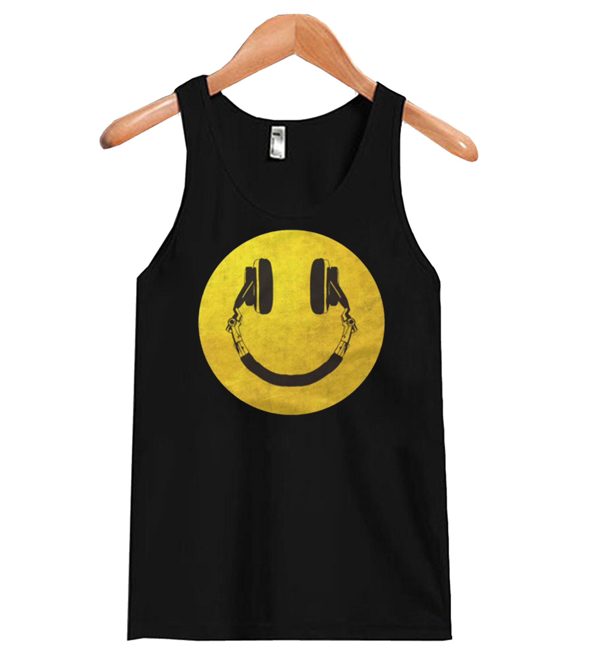 Music Smile Tank top