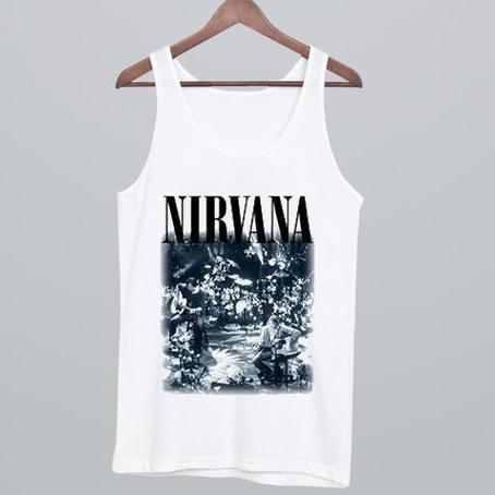 Nirvana Tank top