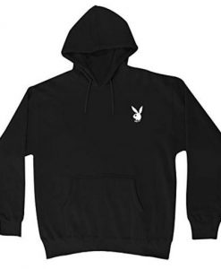 Playboy White Bunny Hoodie