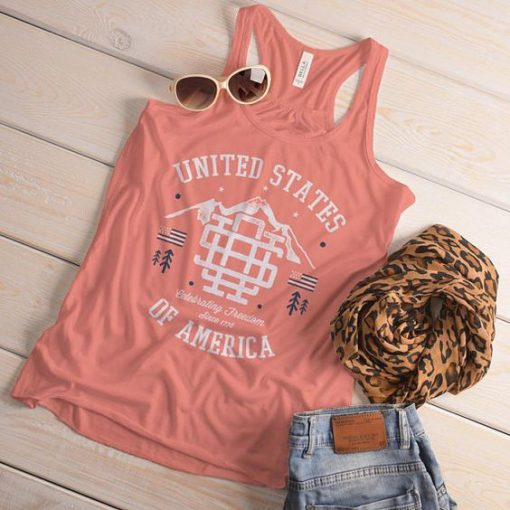 Vintage United States Flowy Tanktop