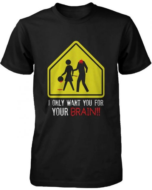 Your Brain Zombie T Shirt