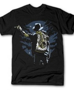 Zombie Pop Line Design T-Shirt