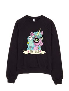 Feminist Unicorn Sweatshirt