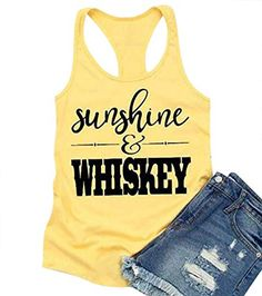 Sunshine And Wishkey Tanktop