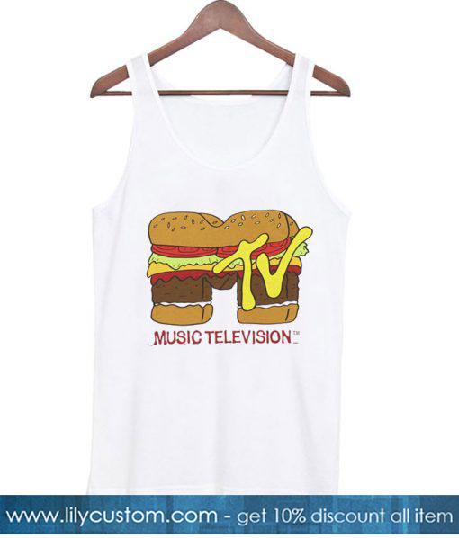 MTV Logo Burger Tank top