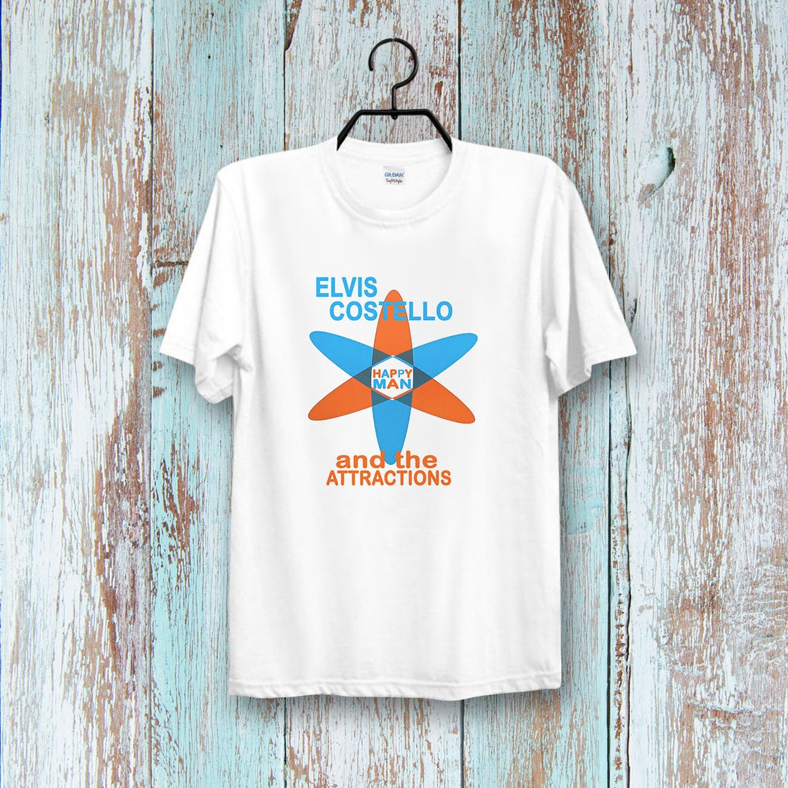 Elvis Costello Get Happy Cool t shirt NA