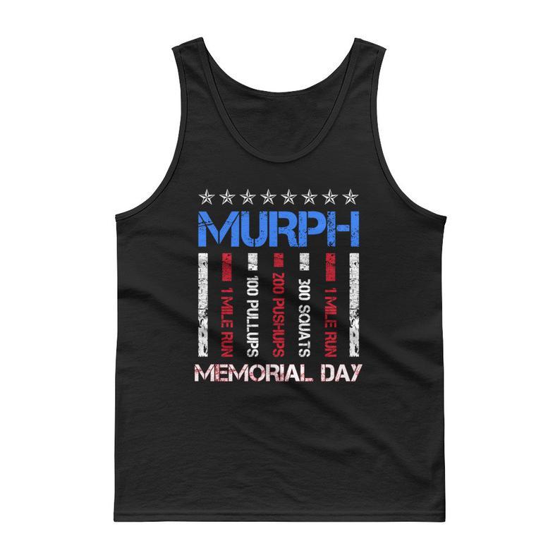 Memorial Day Murph Shirt 2019 Workout 19 Tanktop NA